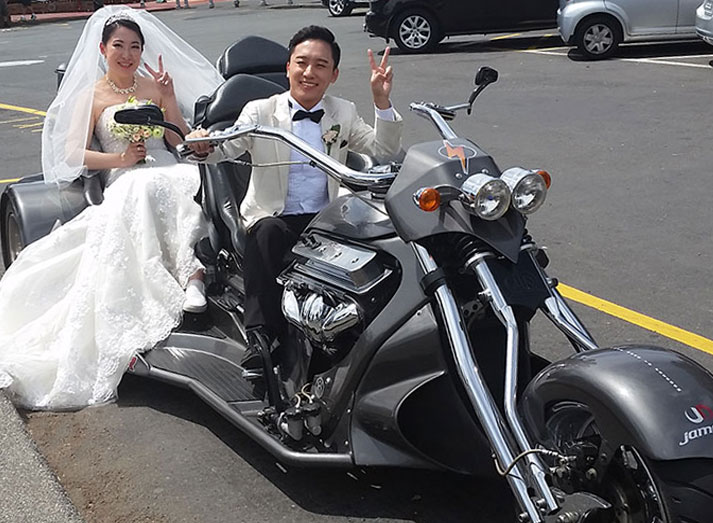 Thunder Trike Tours Private hire and weddings